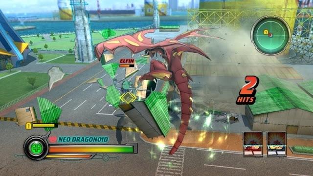 Download Bakugan : Defenders of the Core PSP zona-games.com