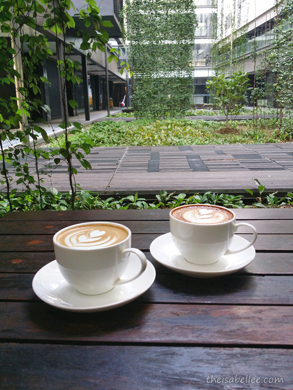 Coffee at Three Little Birds Coffee, Sentul KL