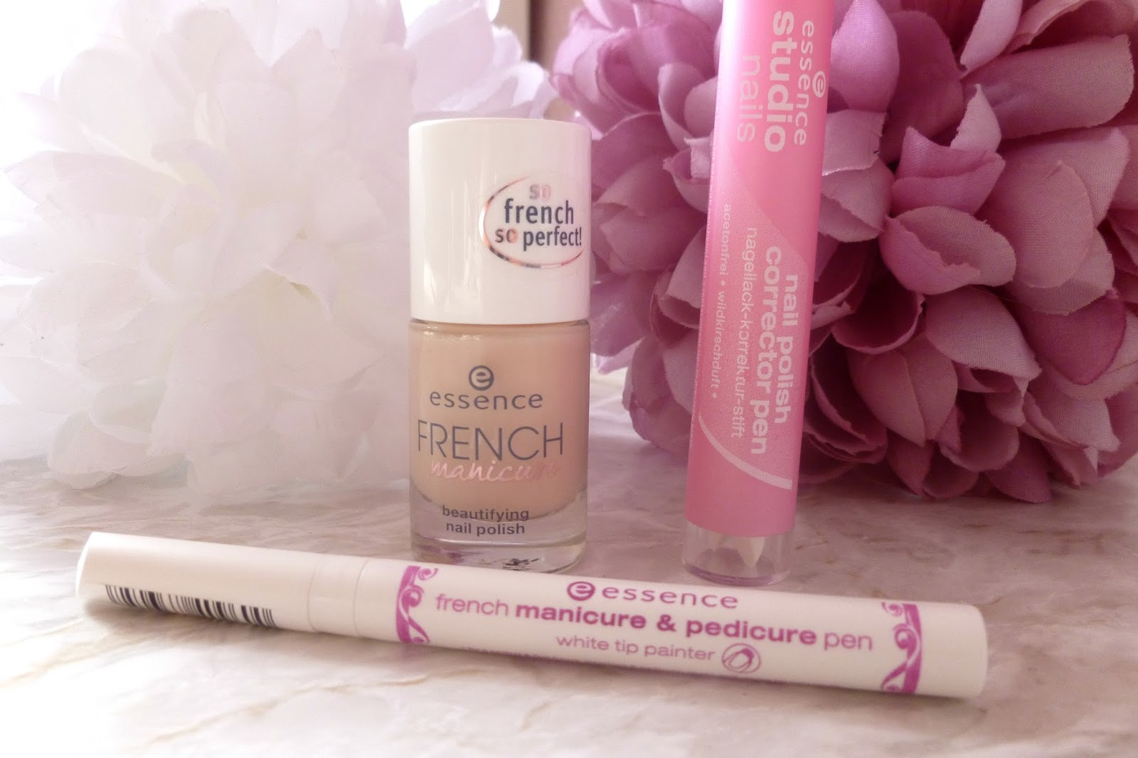 A French Manicure With Essence - Mammaful Zo: Beauty, Fashion, Lifestyle