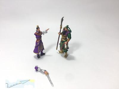mô hình nhân vật Tam Quốc Chí 3