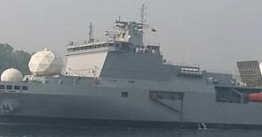 HSL Readies To Hand Over Navy's Missile Tracking Ship   Indian Defence News