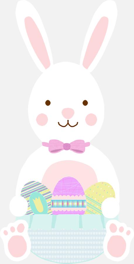 dibujo conejo de Pascua