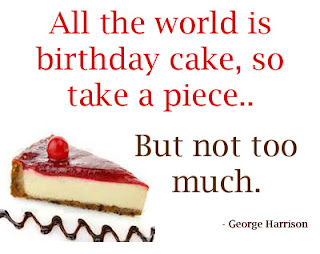 George Harrison wish All the world is birthday cake