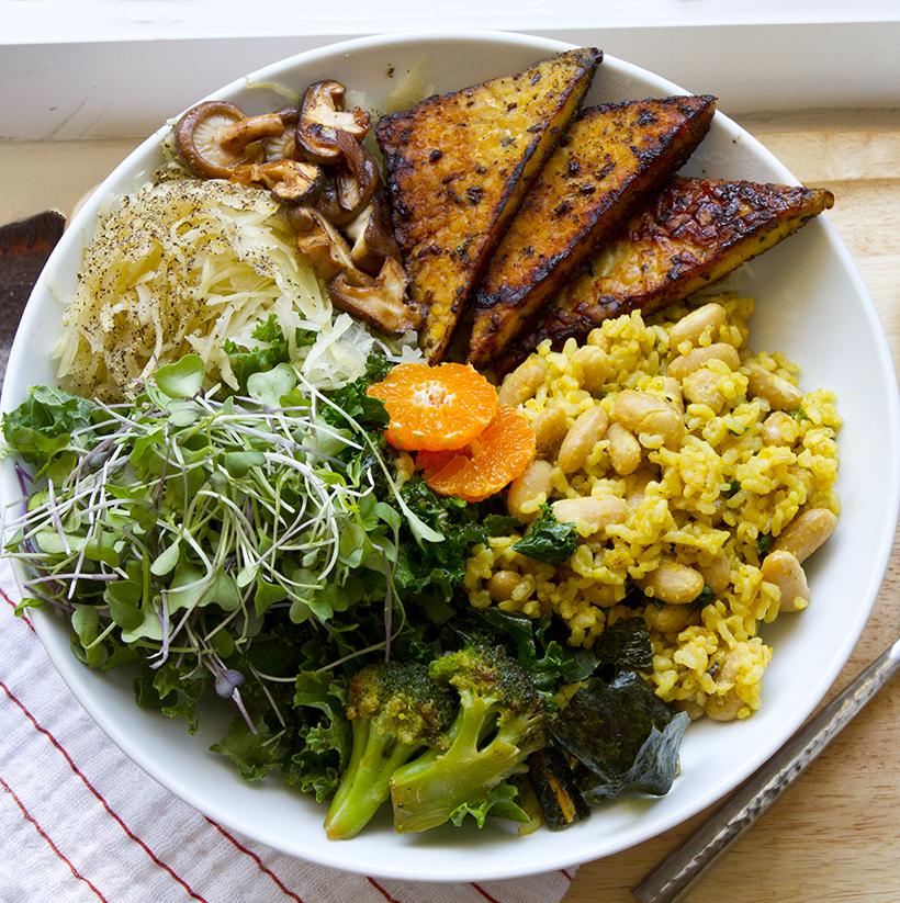 Vegan Macro Bowl
