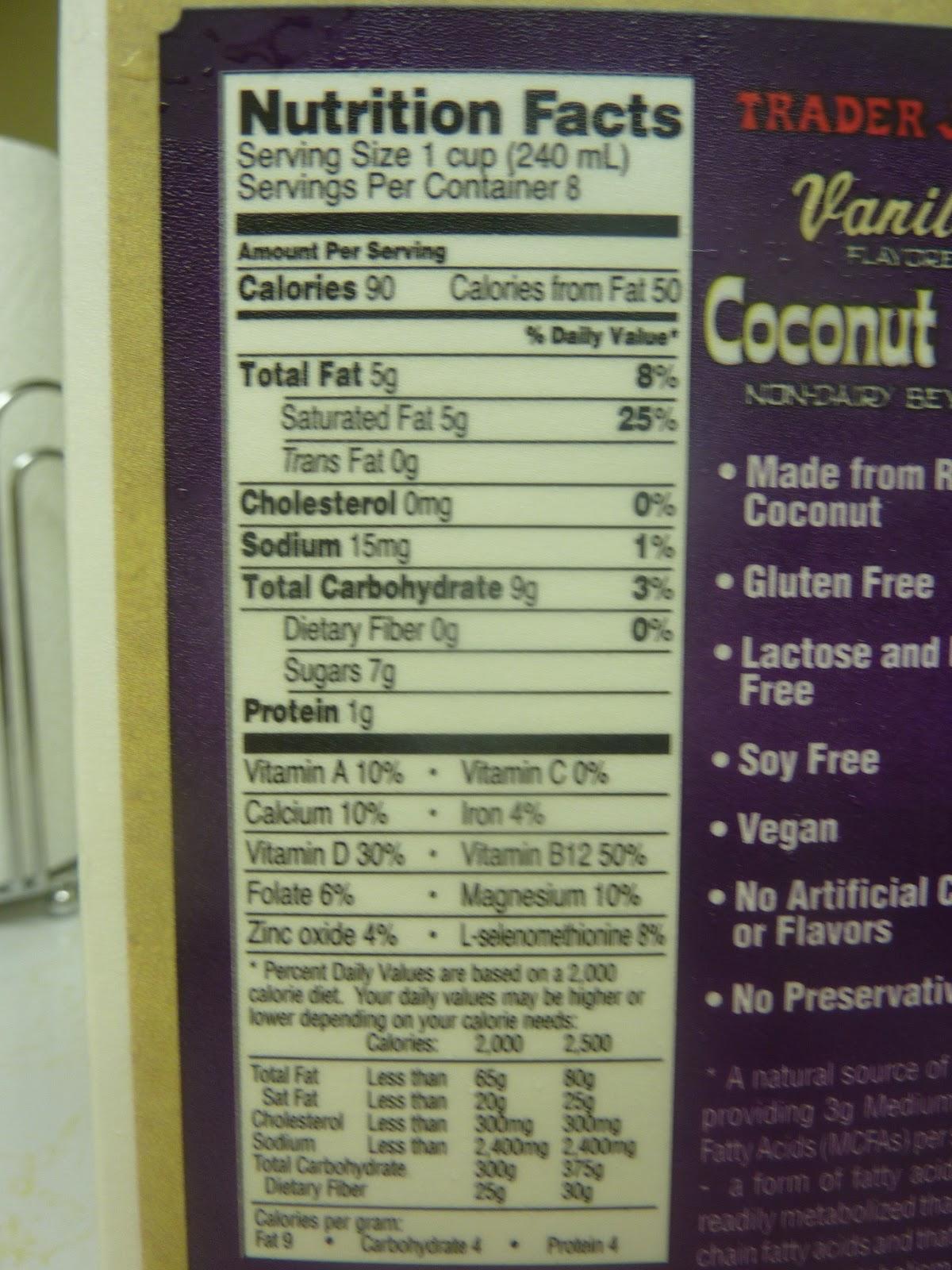 What S Good At Trader Joe S Trader Joe S Vanilla Coconut