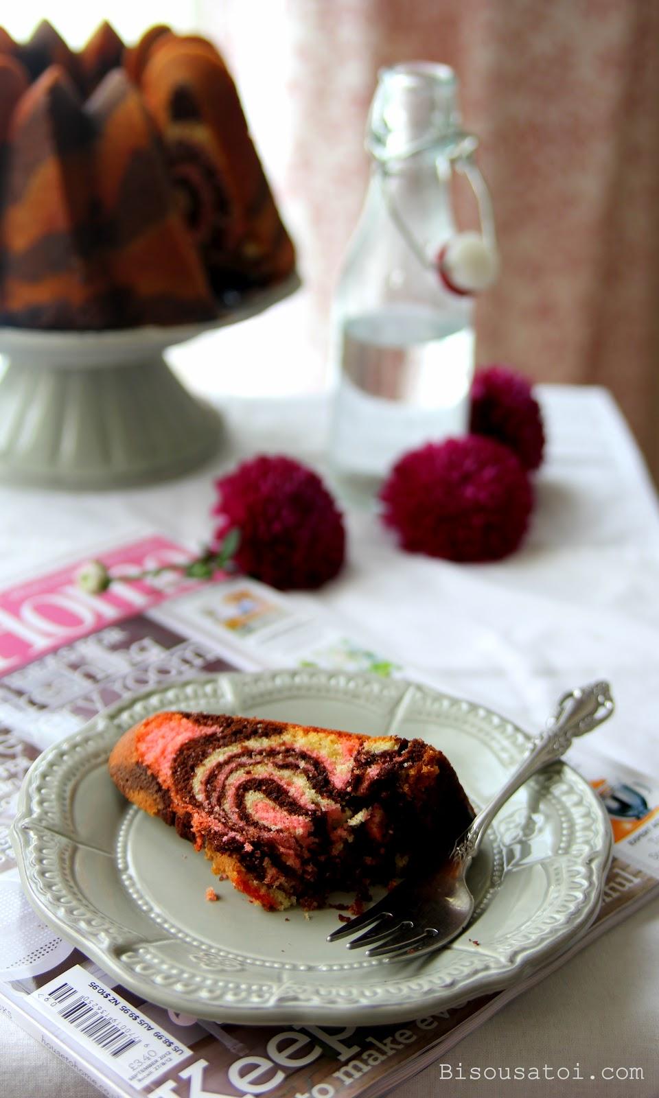 Everyday Cake Neapolitan Marble Cake Bisous 192 Toi