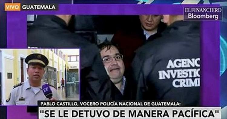 ASI FUE DETENCION DE JAVIER DUARTE SEGUN POLICIAS DE GUATEMALA (VIDEO)