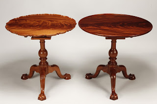 handmade tea tables