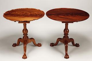 handmade tea tables