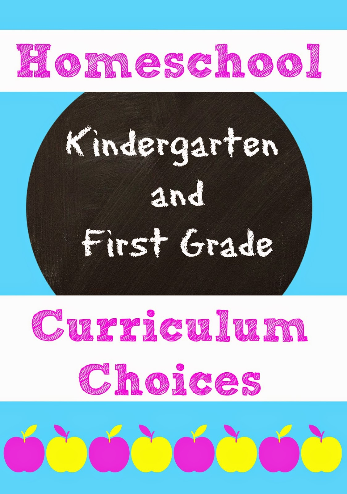 Curriculum for the 2014-2015 School Year (K and 1st)