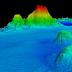 Ditemukan Gunung Raksasa di Dalam Laut Sumatera Berdiameter 50 Km