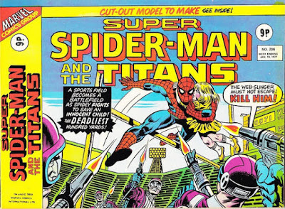Super Spider-Man and the Super-Heroes #205, the longest hundred yards