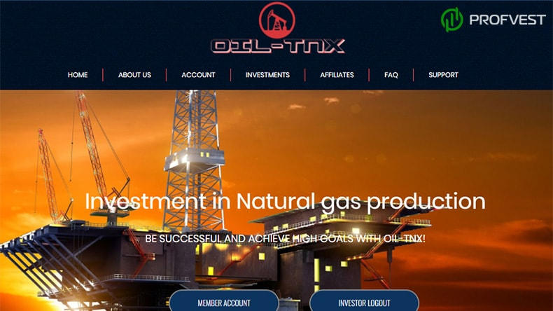 OIL-TNX обзор и отзывы HYIP-проекта