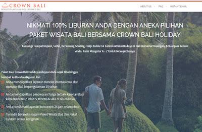 Paket Wisata Bali Bersama Crown Bali Holiday