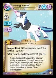 My Little Pony Shining Armor, Bastion Brother Equestrian Odysseys CCG Card
