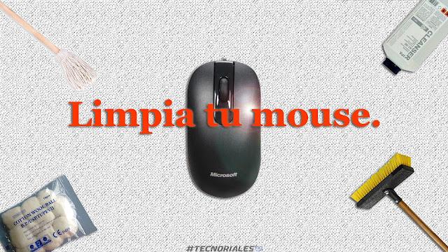 Limpiar mouse