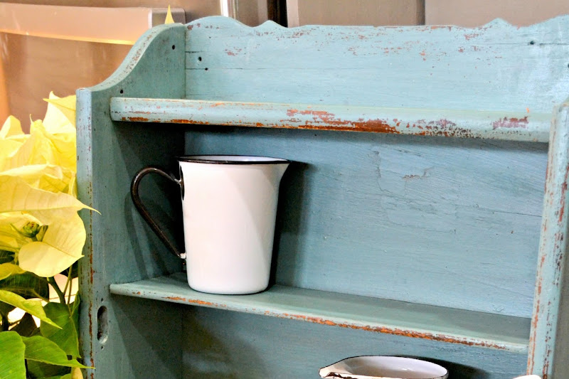 Antique Shelf in MMS Milk Paint