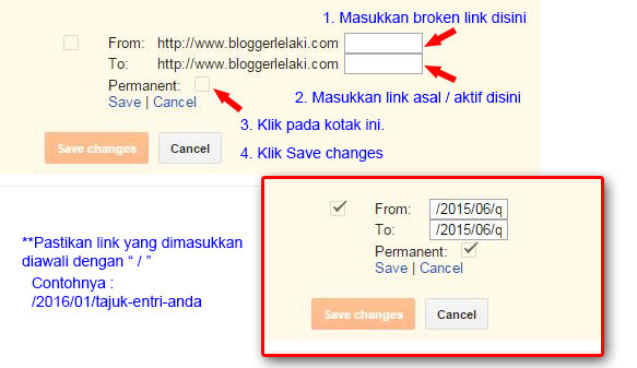 Cara Memperbaiki URL Not Found Crawl Error