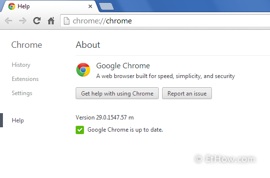 New google chrome 29 got some new features in it.