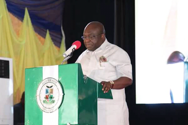 @GovernorIkpeazu: Building roads without drainage, economic sabotage