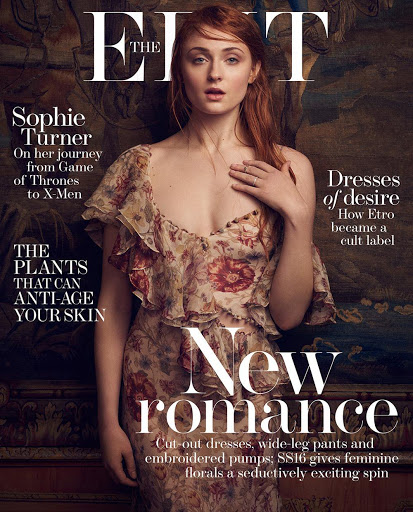 sophie turner sexy models photo shoot the edit magazine cover