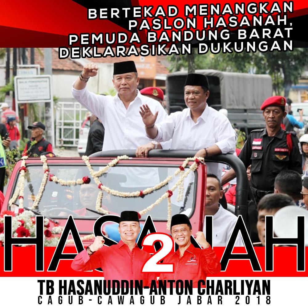 Pemuda Bandung Barat Beri Dukungan Hasanah