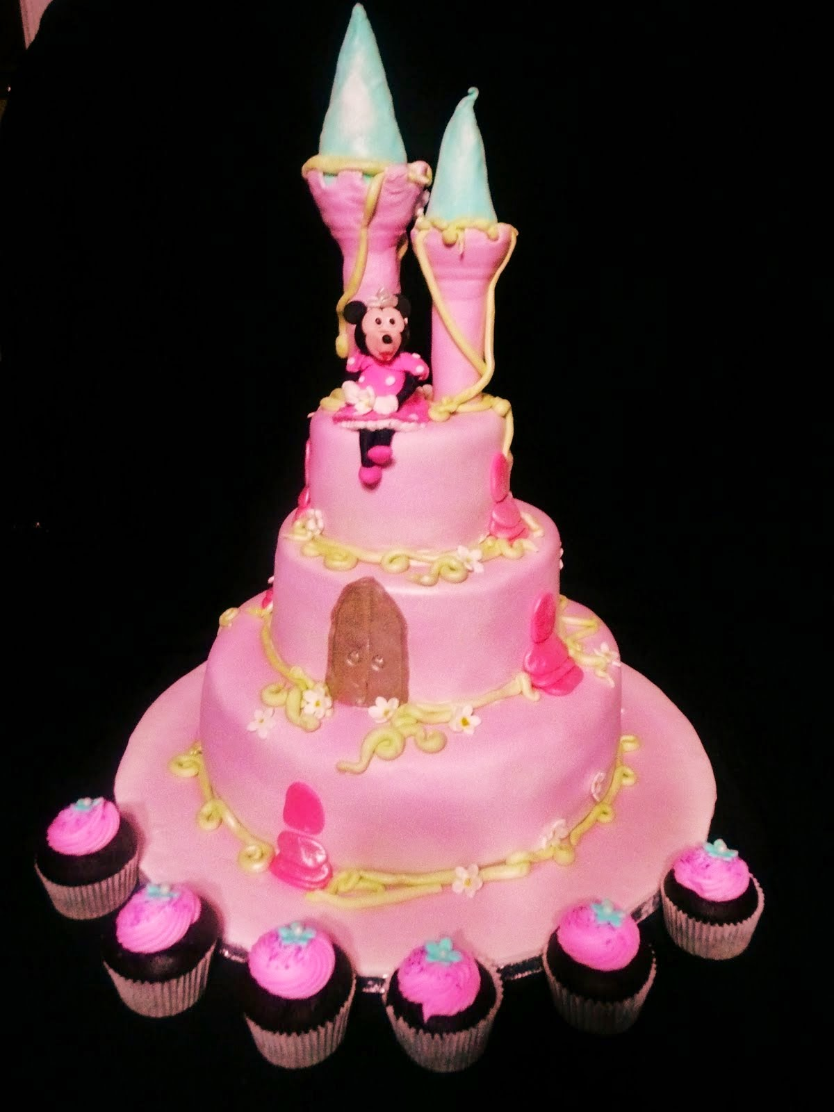 Ideas For Princess Castle Cakes
