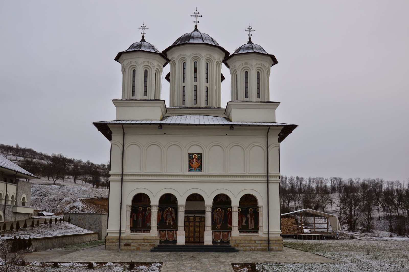 Sfantul Intaiul Mucenic si Arhidiacon Stefan, Manastirea Salva, jud. Bistrita-Nasaud