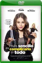 Lo más Sencillo es Complicarlo Todo (2018) DVDRip Latino