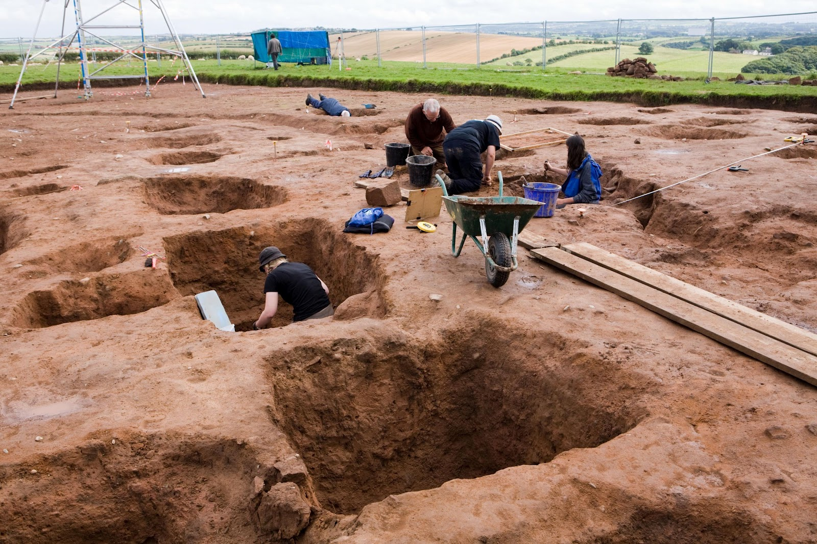 Dig Sheds Light On Roman Life In Northern England The