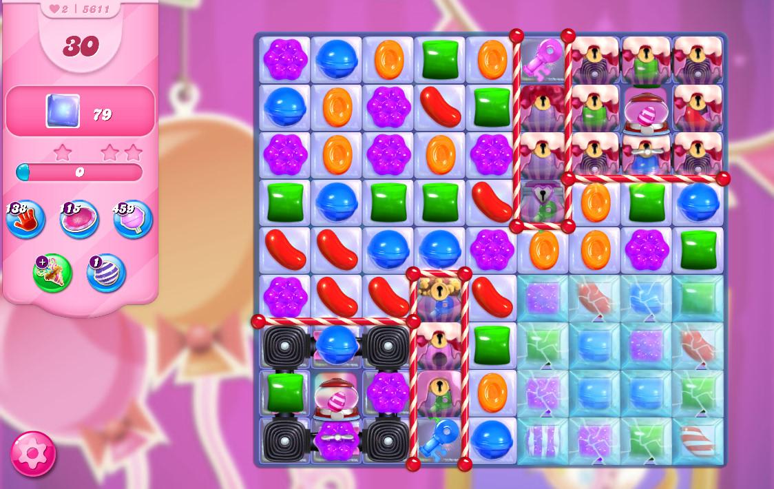 Candy Crush Saga level 5611