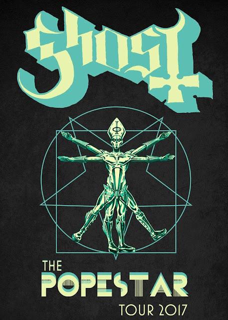 Ghost - Popestar Tour 2017