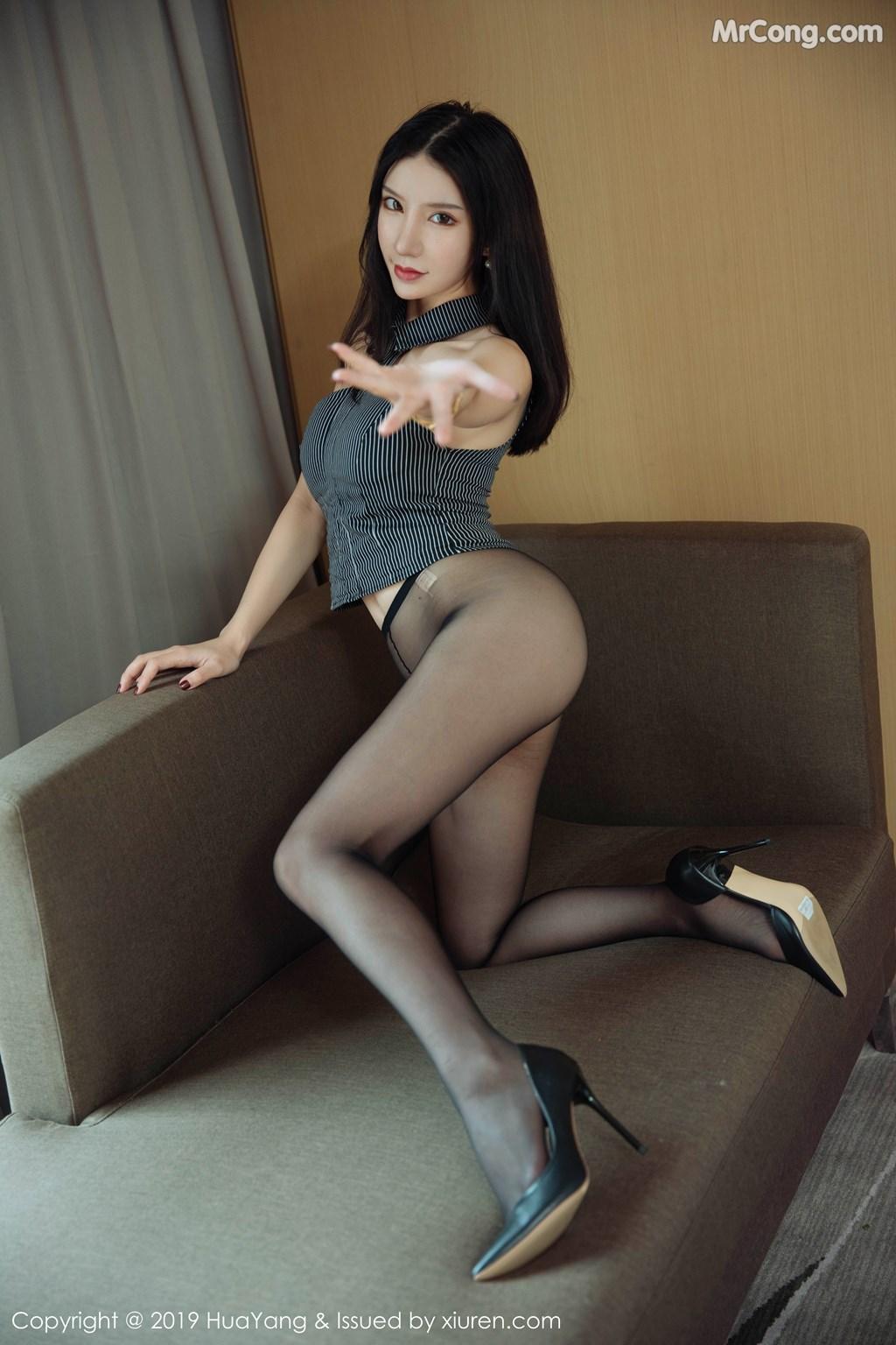 Image HuaYang-2019-04-03-Vol.127-Zhou-Yuxi-Sandy-MrCong.com-016 in post HuaYang 2019-04-03 Vol.127: Zhou Yuxi (周于希Sandy) (43 ảnh)