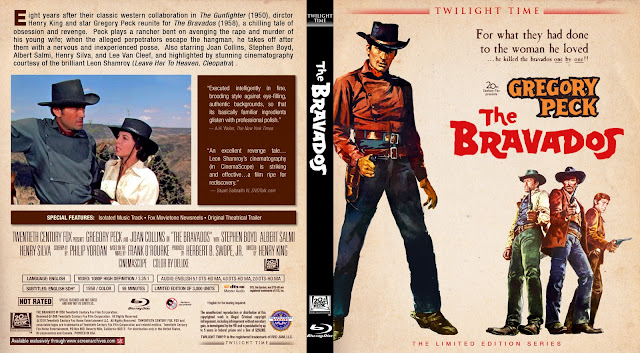 The Bravados Bluray