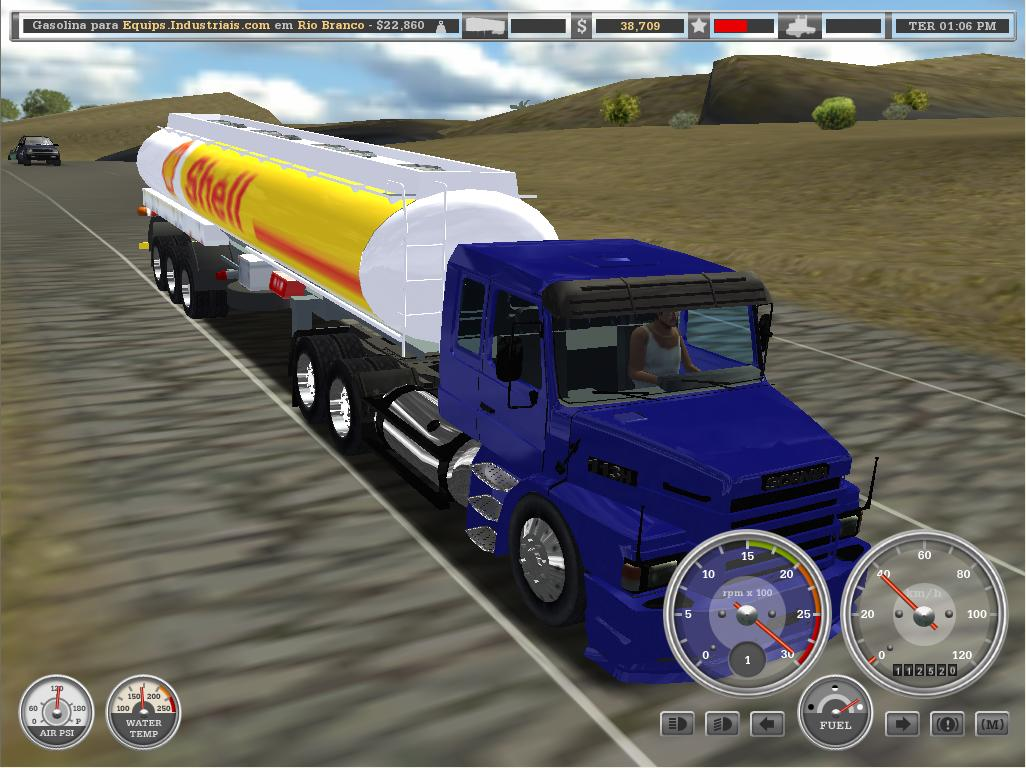 18 wheels of steel haulin brasil completo e gratis
