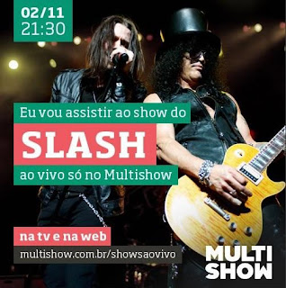 Baixar Torrent Show: Slash Ao Vivo no MultiShow Download Grátis