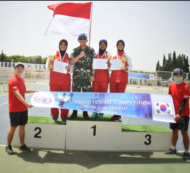 Tiga Srikandi Atlet Indobatt Harumkan Indonesia di Kancah Internasional