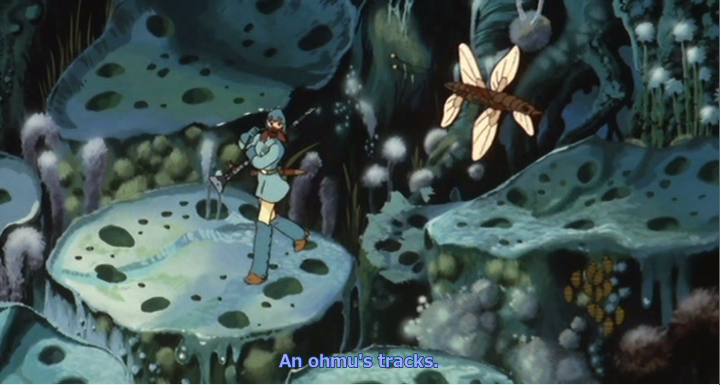 Image result for nausicaa poison forest
