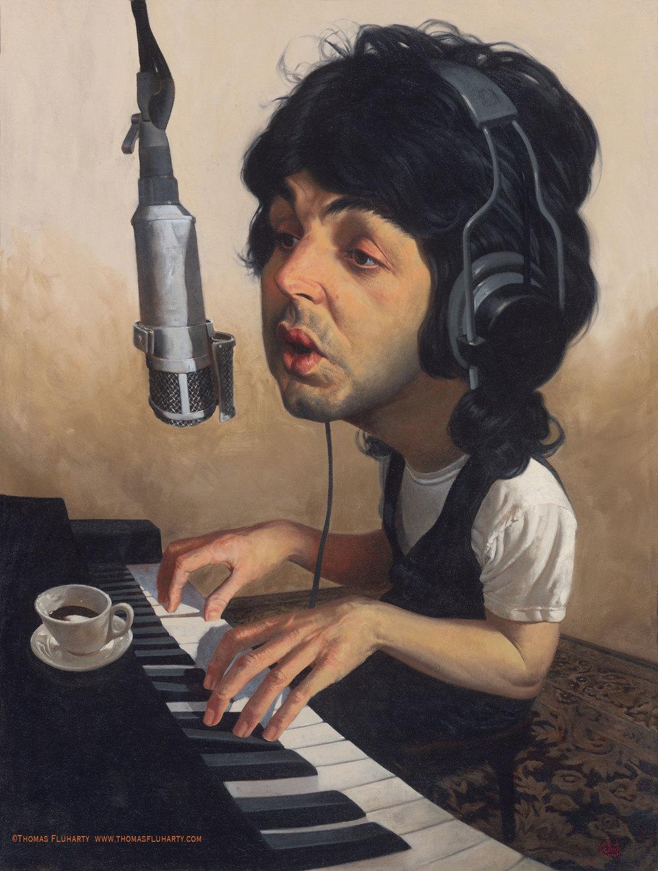 Paul McCartney 2 por Thomas Fluharty