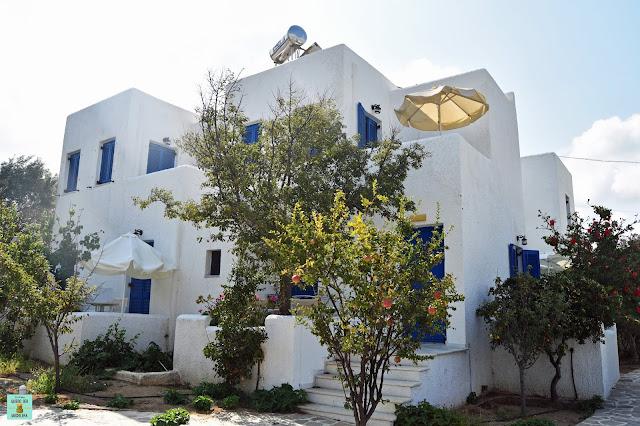 Alojamiento en Naxos