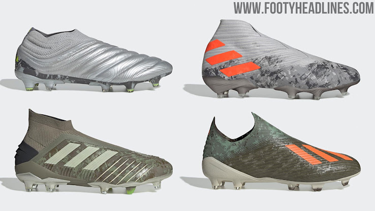 Adidas Nemeziz 19+ 'Encryption' Pack Boots Leaked New