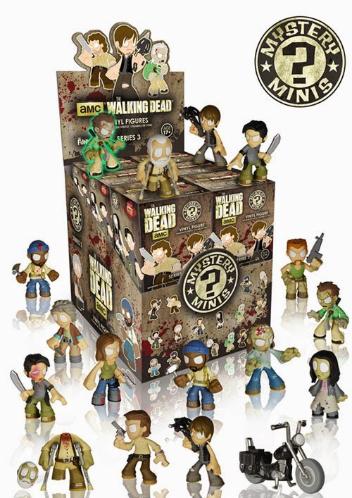 The Walking Dead Mystery Minis Blind Box Series 3 Packaging by Funko