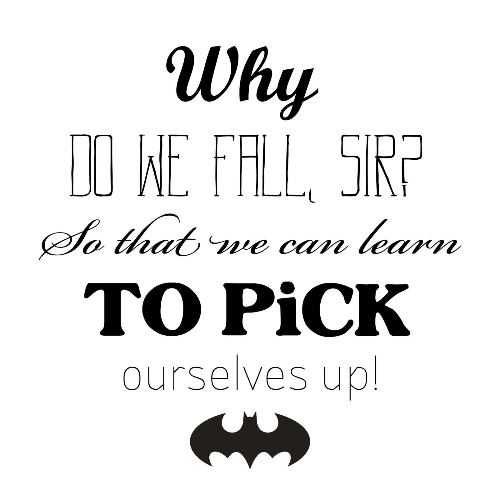 Batman Als Lifecoach