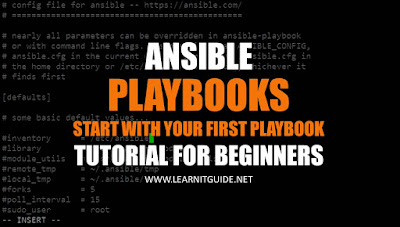 Ansible Playbook Tutorial