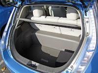 Nissan Leaf cargo area