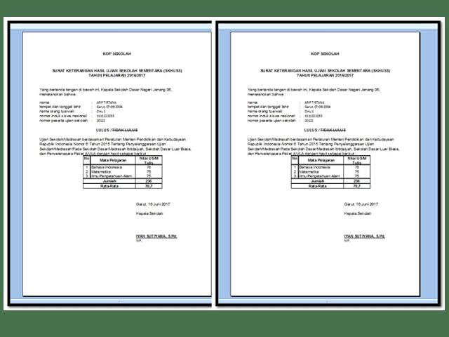 Aplikasi Cetak SKHU Sementara Tahun 2017 Format Excel.Xlsx