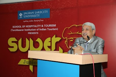 Eating is necessity, but cooking is ART: Super Chef Junior at Jagran Lakecity University