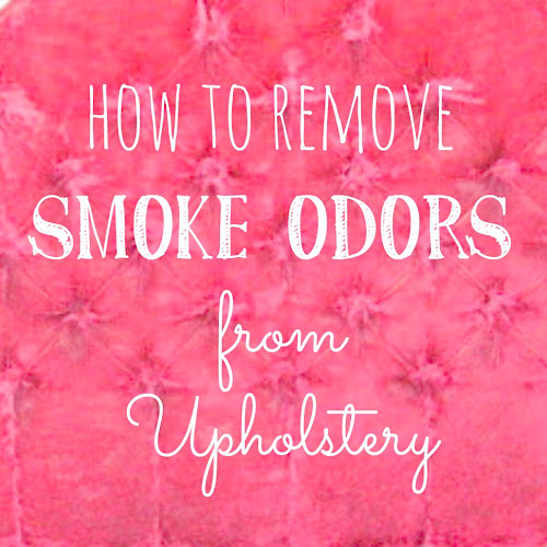 How to Remove Smoke Odors From Upholstery