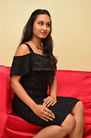 South Actress Amulya in short black dress at Kalamandir Foundation 7th anniversary Celebrations ~  Actress Galleries 040.JPG