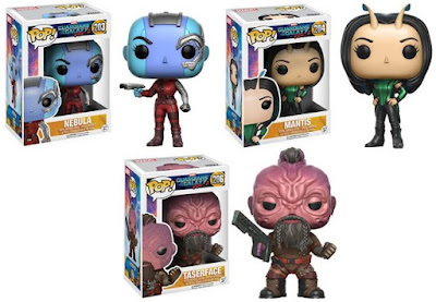 Guardians of the Galaxy Vol 2 Pop! Marvel Vinyl Figures by Funko